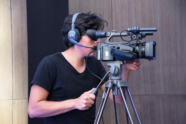 Cameraman Photo Premium