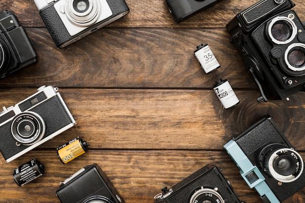 Caméras et composition de films Photo gratuit