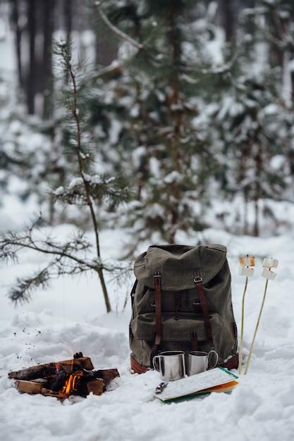 Camping VoyageCarteDeux À D'hiverFeu De Sac Joie Avec Dos e2WED9IHY