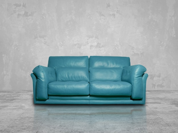 Canapé Bleu Photo gratuit