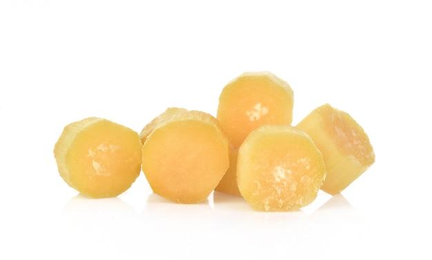 Canne à sucre isolée Photo Premium