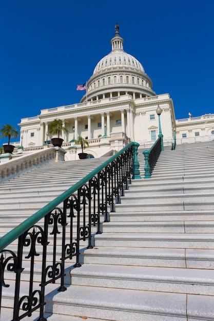 Capitole Du Congrès De Washington Dc Usa Photo Premium