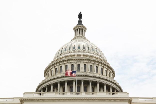 Capitole des états-unis à washington dc, états-unis. congrès des états-unis Photo Premium