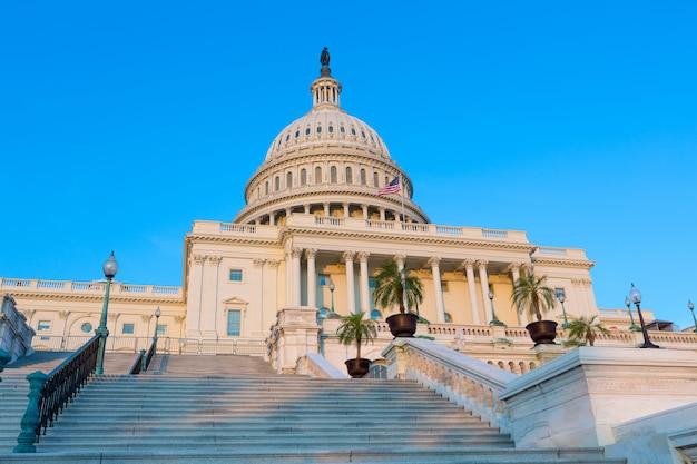 Capitole à washington dc congrès des états-unis Photo Premium