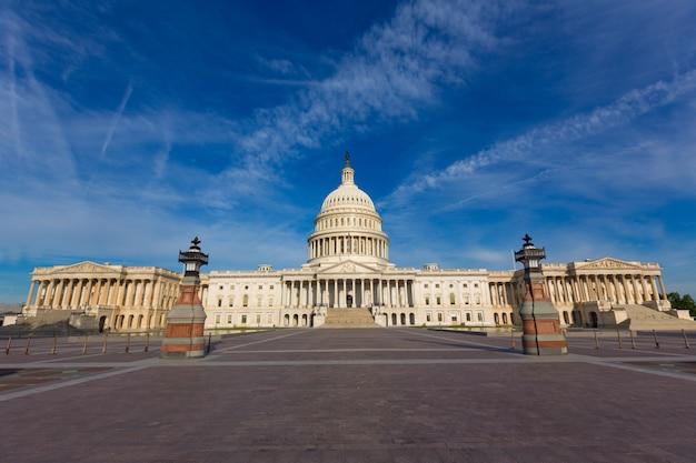 Capitole de washington dc façade est des états-unis Photo Premium