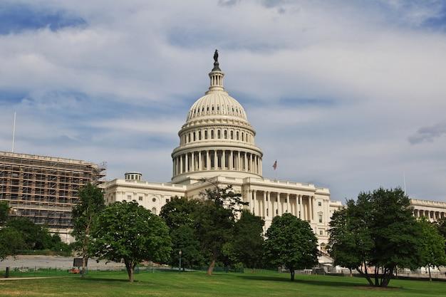 Capitole à Washington, états-unis Photo Premium