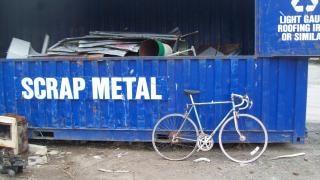 Cariées Morrison Vélo Bleu à Dix Vitesses, Alliage Photo gratuit