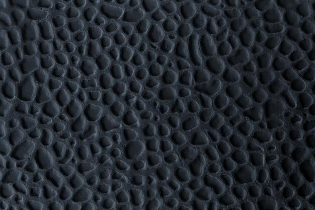 Carreau de céramique avec relief en noir Photo Premium