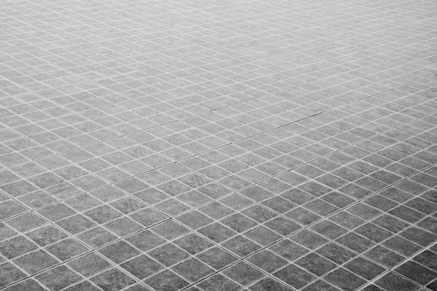 Carrelage à motifs, sol en briques de céramique Photo Premium