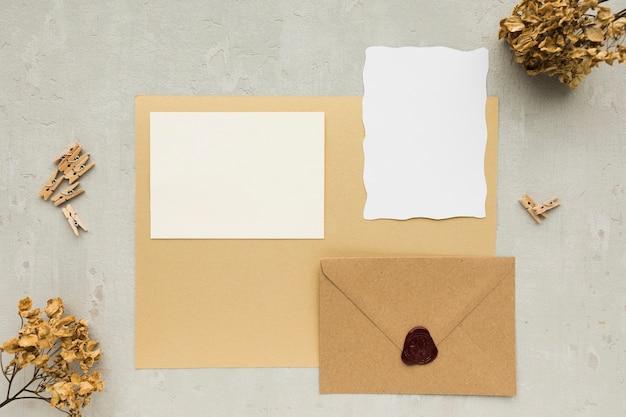 Carte D'invitations De Mariage Photo gratuit