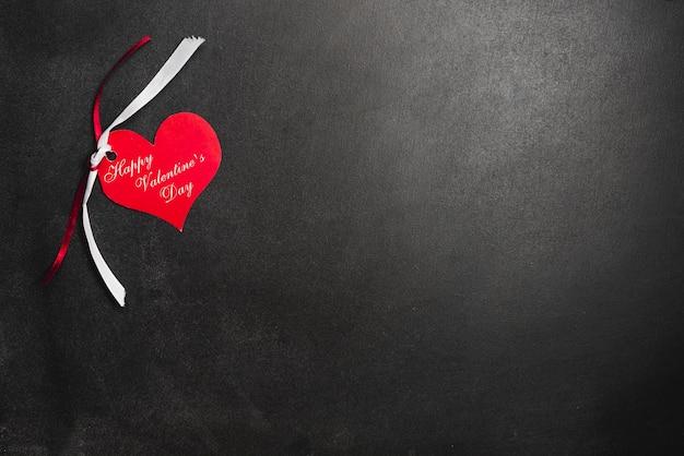 Carte de voeux saint valentin Photo gratuit