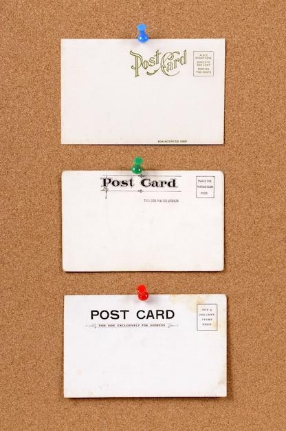 Cartes Postales Anciennes | Photo Gratuite