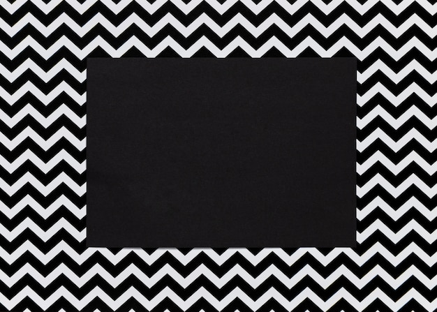 Carton Noir Avec Cadre Abstrait Photo gratuit