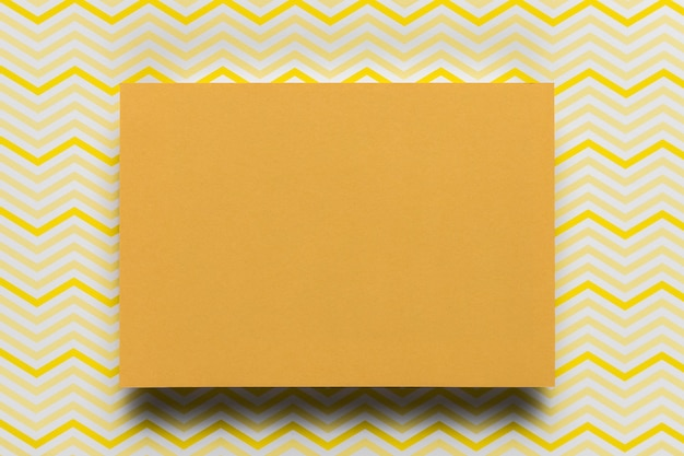 Carton Orange Avec Fond Photo gratuit