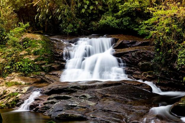 Cascade pedra branca, parati, rio de janeiro, brésil. Photo Premium