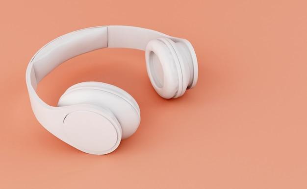 Casque 3d blanc Photo Premium