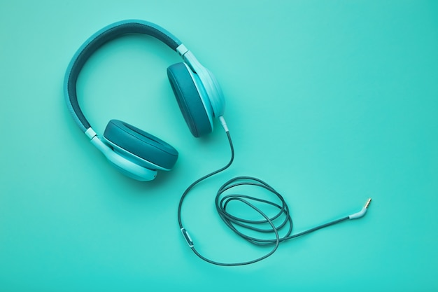 Casque Turquoise Photo Premium
