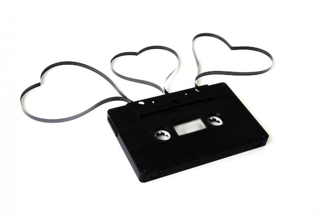 Cassette ancienne isolée Photo Premium
