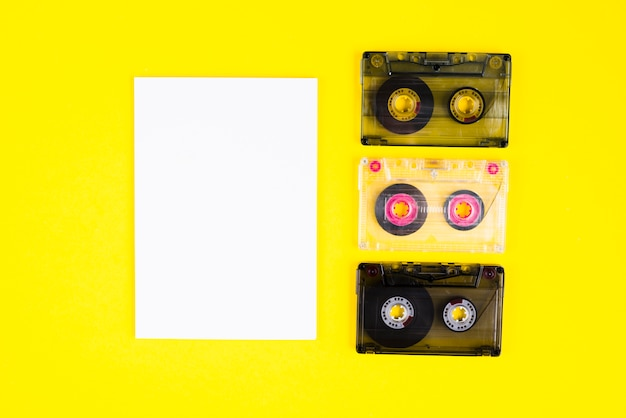 Cassettes Photo gratuit