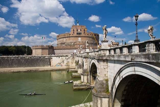 Castel sant'angelo, rome Photo Premium