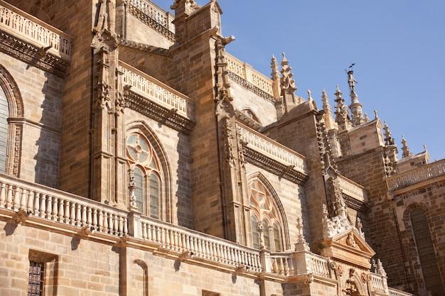 La cathédrale d'astorga, en espagne Photo Premium