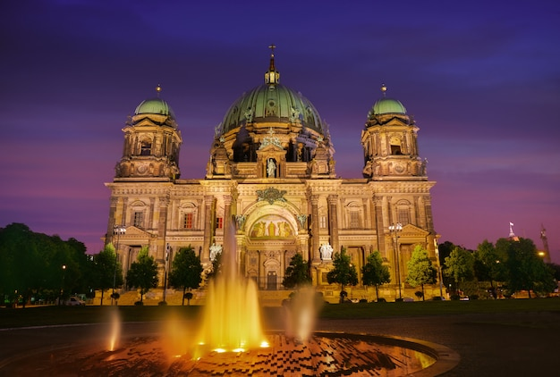 Cathédrale de berlin berliner dom allemagne Photo Premium