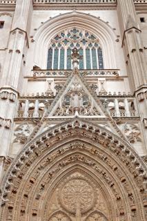 Cathédrale de nantes sculpter Photo gratuit