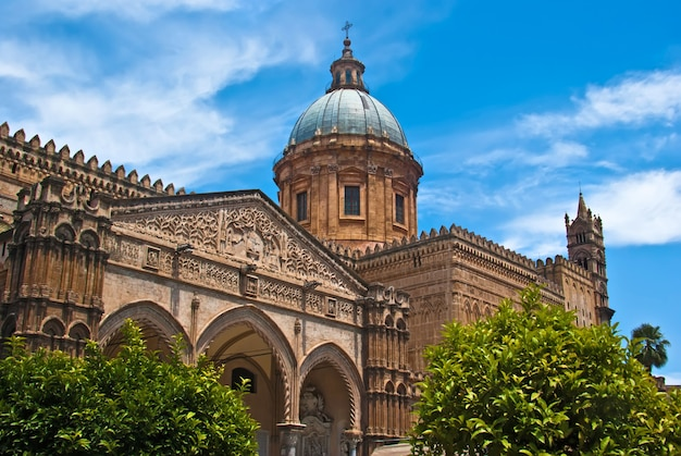 Cathédrale De Palerme Photo Premium