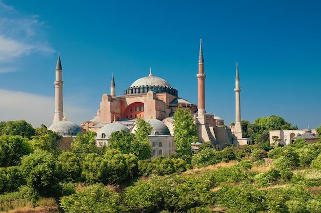 Cathédrale Sainte-sophie, Istanbul, Turquie Photo Premium