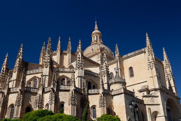 Cathédrale de ségovie Photo Premium