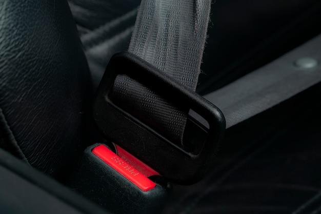 Ceinture de sécurité dans la voiture Photo gratuit