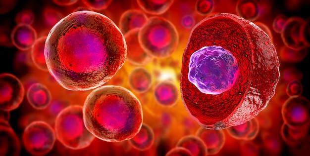 Cellules Souches Embryonnaires, Thérapie Cellulaire, Régénération, Traitement De La Maladie Photo Premium