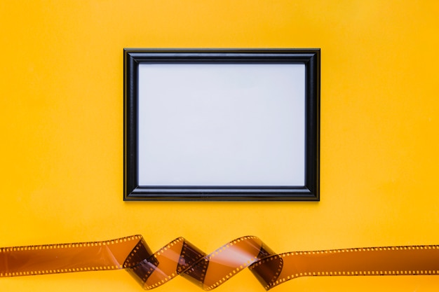 Celluloïd avec cadre Photo gratuit
