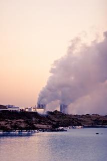 Centrale électrique de la péninsule de reykjanes Photo gratuit