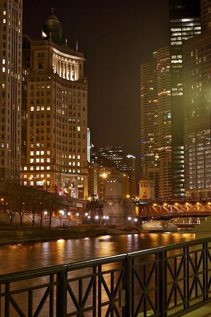 Centre de chicago Photo gratuit