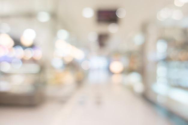 Centre commercial moderne avec un style flou Photo gratuit