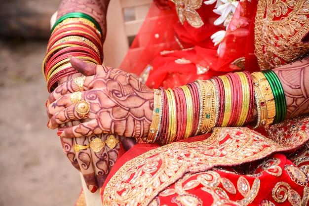 Cérémonie De Mariage Indien Photo Premium