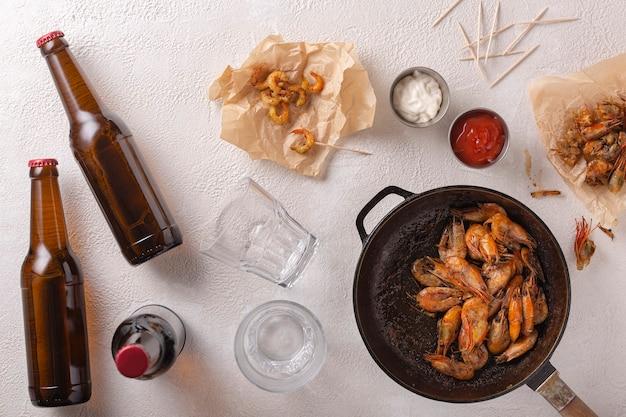 Ceviche, Recette, Thanksgiving, Ceviche De Crevettes, Cocktail De Crevettes, Crevettes Coco, Crevettes Tempura Photo Premium