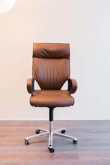 Chaise de bureau confortable Photo gratuit