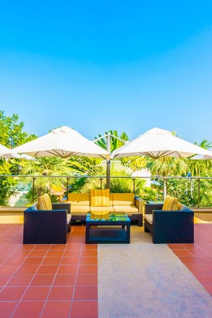 Chaise personne terrasse mode de vie d'été Photo gratuit