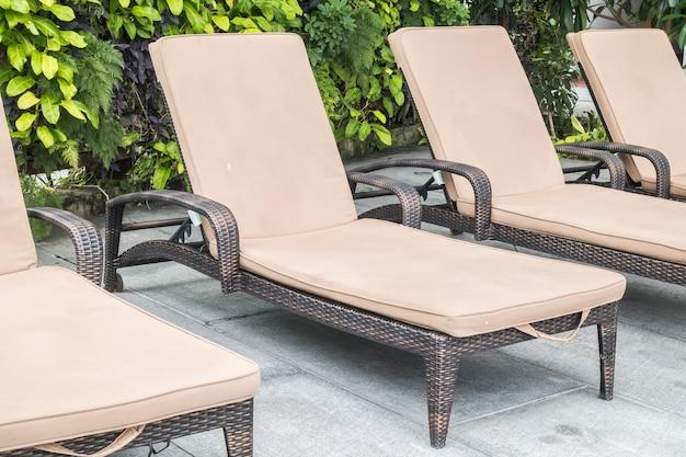 Chaise de piscine Photo gratuit