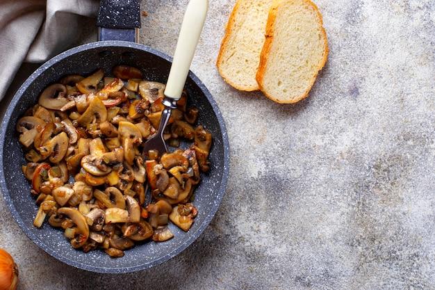 Champignons rôtis Photo Premium