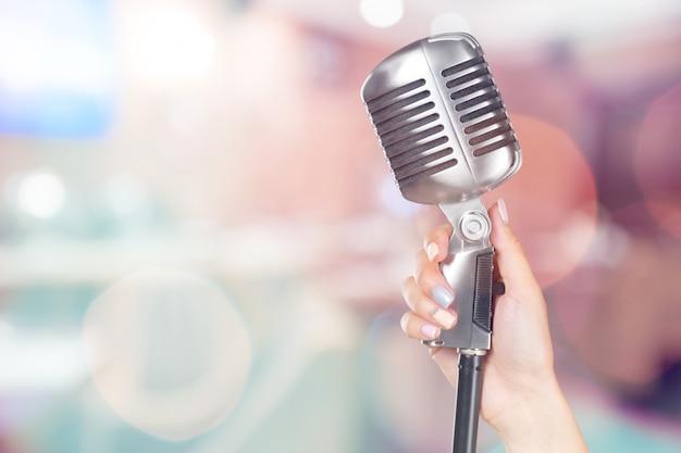 Chanteur populaire Photo Premium