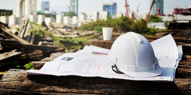 Chantier de construction Photo gratuit