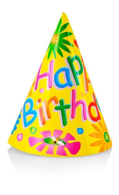 Chapeau de fête d'anniversaire Photo Premium