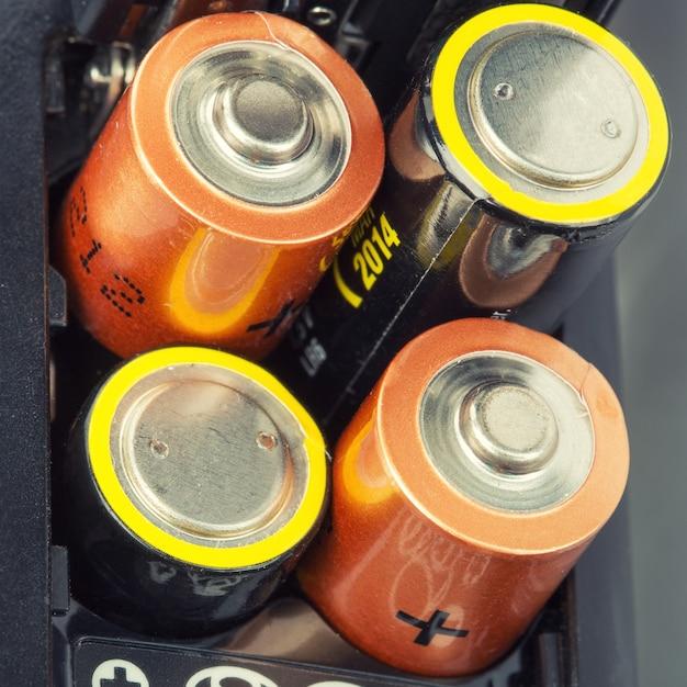Chargement Des Batteries Photo Premium