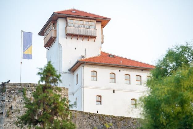 Château sur la colline Photo Premium