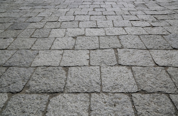 Chaussée de la rue des pierres Photo gratuit