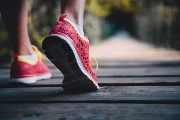 Chaussures de coureur Photo Premium