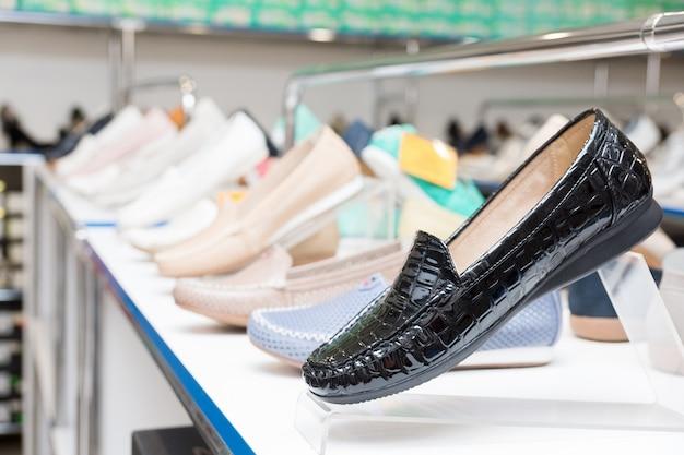 Chaussures Du Magasin Photo Premium